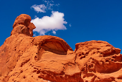 Clouds Over Sandstone in Valley of Fire
