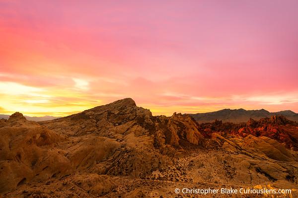 First Light - Valley of Fire