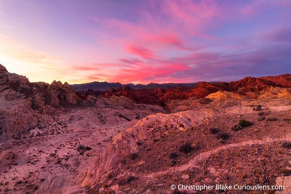 FIre Canyon Sunrise