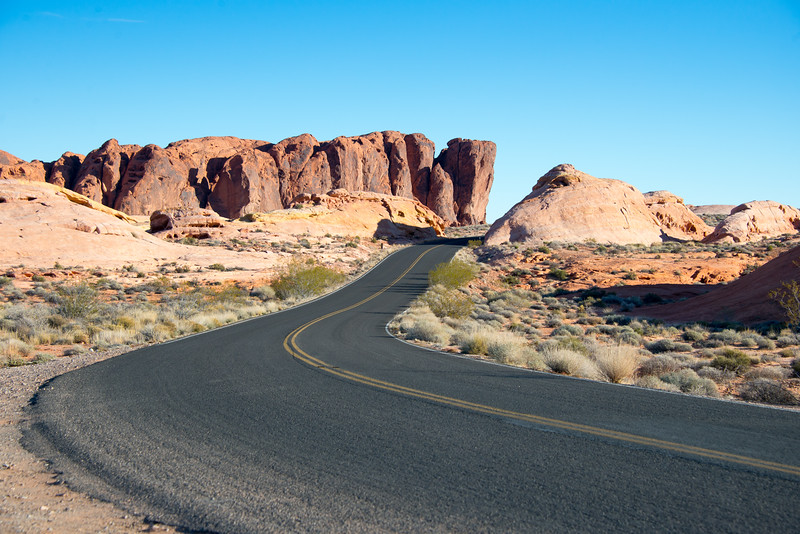 Valley of the Fire State Park, Nevada, January 2015.