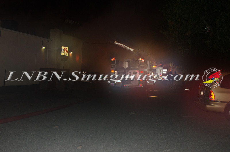 Valley Stream F D  3rd Alarm Building Fire W Merrick Rd c-s Shaw Ave 8-8-12-1
