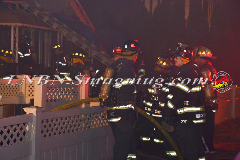 Valley Stream F D  House Fire 11-25-11-5