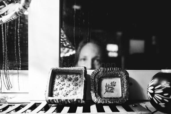 Mirroring Self V (Self Portrait)