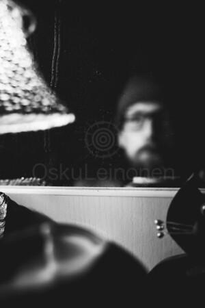 Mirroring Self IV (Self Portrait)