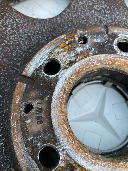 CLK wheels - 12