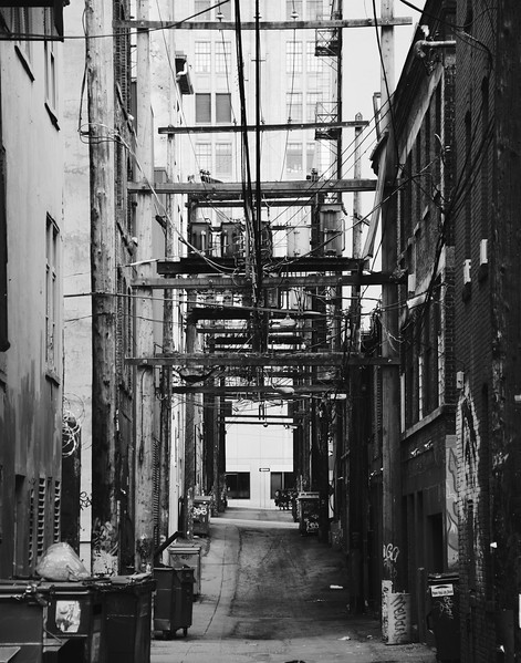 Vancouver Back Alley