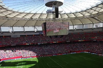 US v Nigeria - End of Match