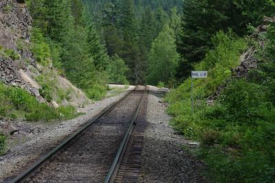 Train Tracks near Brandywine Falls