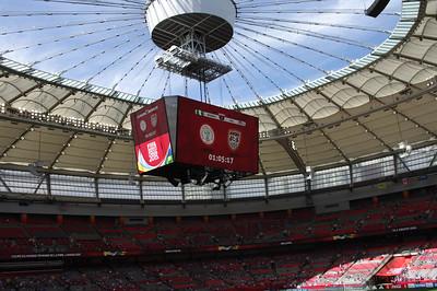 Amazing Roof at BC Stadium