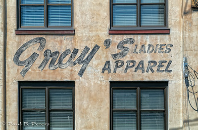 New Westminster, BC - a sign from the past