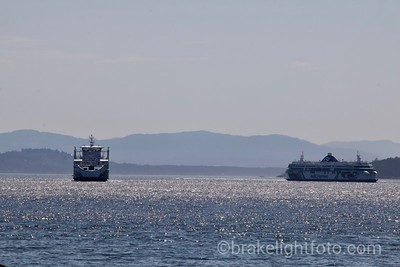 BC Ferries off Otter Bay
