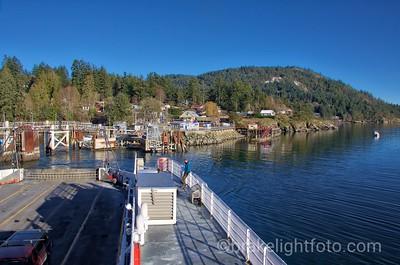 Skeena Queen leaving Fulford Harbour