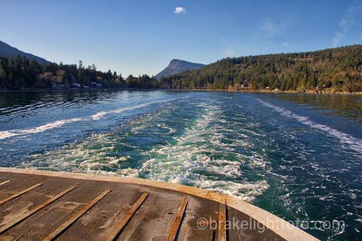BC Ferries Skeena Queen Leaving Fulford Harbour