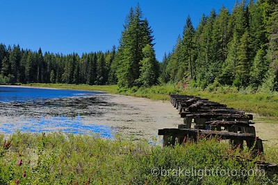 Old Rail Trestle near road to Campbell Lakes