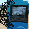 Tyee Spit History Sign