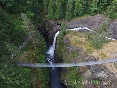 Elk Falls Aerial Photo