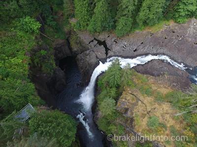 Elk Falls Aerial