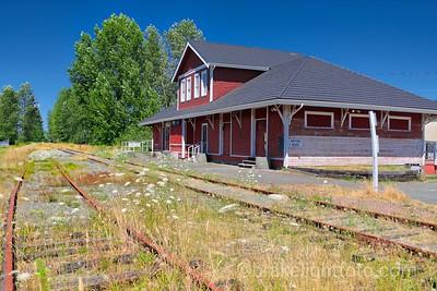 E&N Railway Station, Courtenay