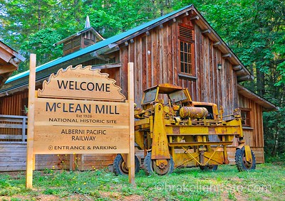 The McLean Mill National Historic Site