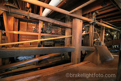Steam Engine of The McLean Mill National Historic Site