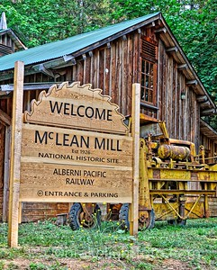McLean Mill National Historic Site