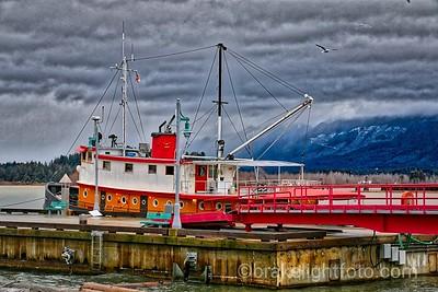 Converted Tug in Port Alberni Harbour