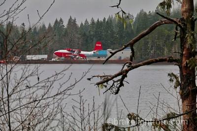 Martin Mars Water Bomber at Sprout Lake