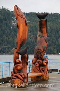 Sculptures at Harbour Quay