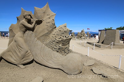 Parksville Sand Sculpture Competition
