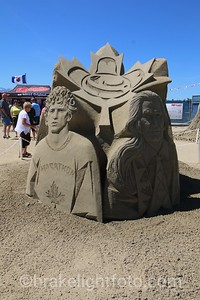 Parksville Sandcastle Competition