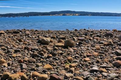Denman Island from Union Bay