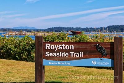 Royston Sea Side Trail & Breakwater
