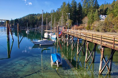 Docks at Fulford Harbour