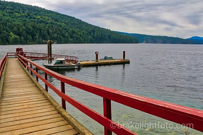 Public Dock at Burgoyne Bay, Saltspring Island