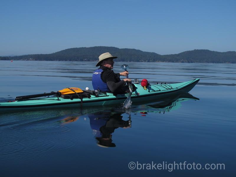 Kayaking Saturna Island
