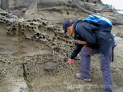 Examining East Point Sandstone Formations