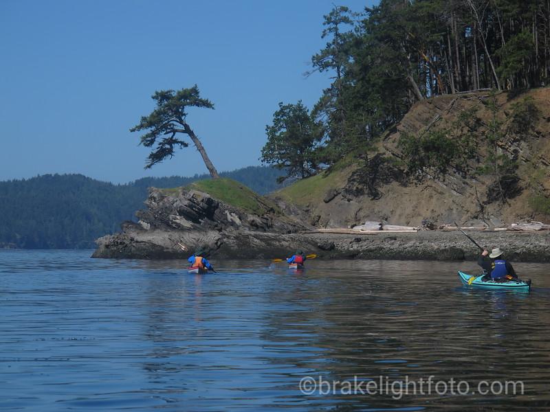 Sea Kayaks at Murder Point