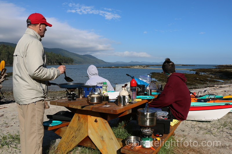 Camping on Cabbage Island