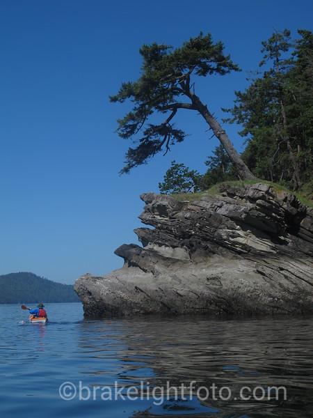 Kayaker Rounding Murder Point