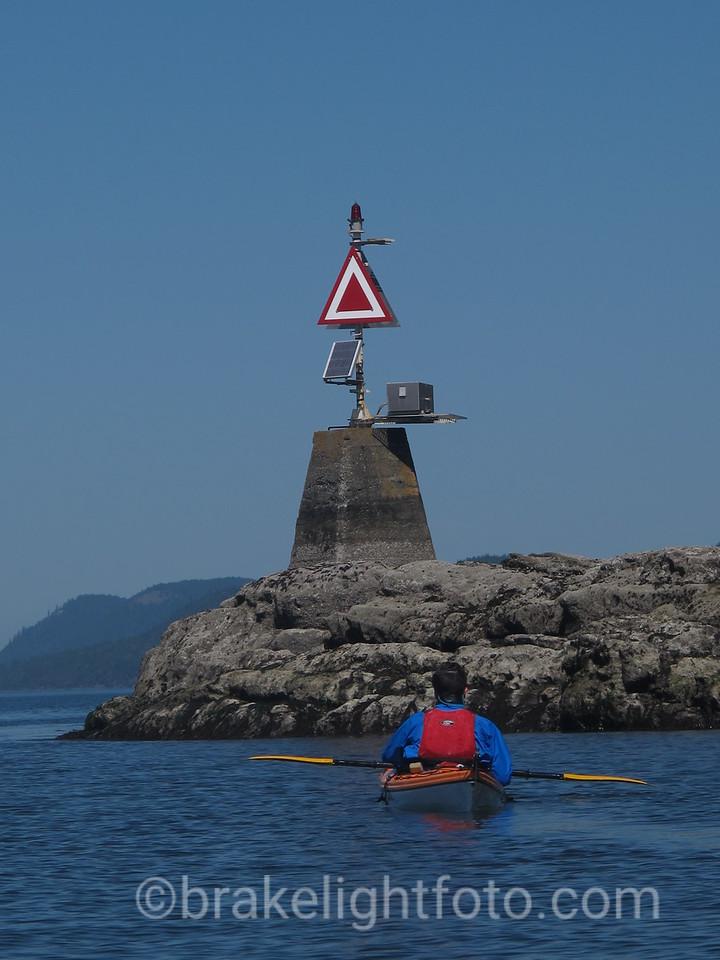 Sea Kayaker at Croker Point