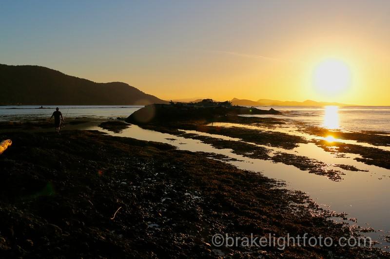 Cabbage Island Sunset