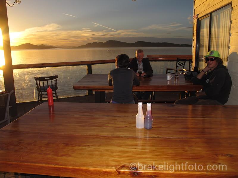 Saturna Lighthouse Pub Patio