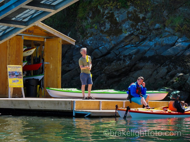 Saturna Kayak Shack