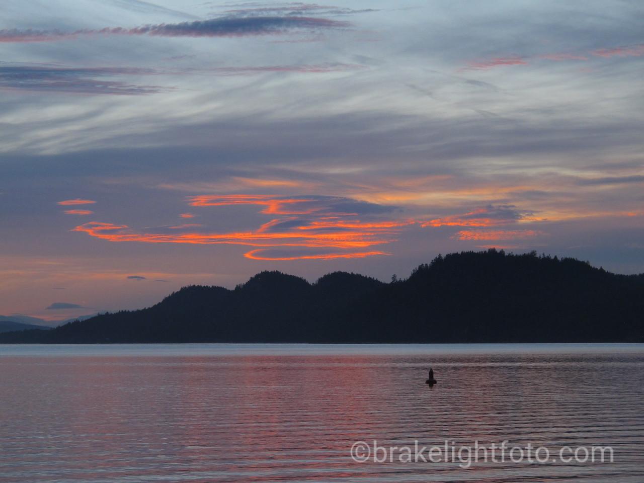 Saturna Island Sunset