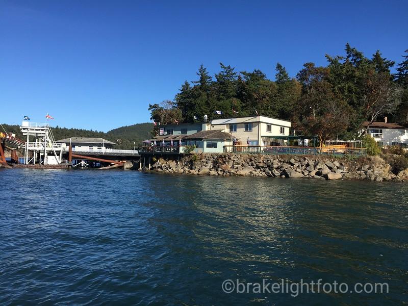 Lyall Harbour Ferry Terminal & Saturna Lighthouse Pub
