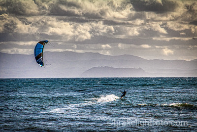 Kiteboarding at Jordan River Regional Park
