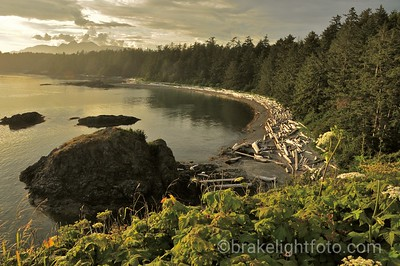 Sunset Beach in Nutchatlitz Inlet