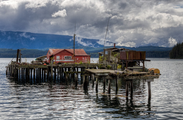 Mercury Waters - Alert Bay - Cormorant Island, British Columbia, Canada