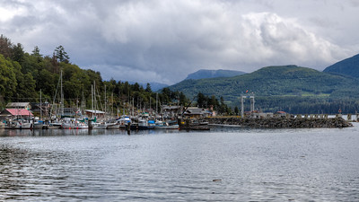 Alert Bay, Cormorant Island, British Columbia, Canada