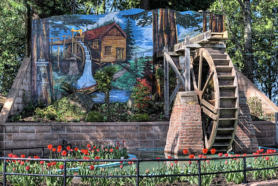 "Waterwheel - Chemainus BC Canada Visit our blog ""Small Town Life"" for the story behind the photos."
